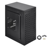 Micro ATX ITX Black USB 2.0 Office Gaming Computer Destop Case PC Cases LED Fan