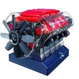 Kit de construção de motores de combustão V8 Kit STEM Toy