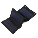 30W 5V Sunpower plegable Solar Cargador de panel Solar Power Bank Mochila USB cámping Senderismo