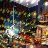 DIGOO DG-SY818X Proyección Lámpara Control remoto Luz de escenario Impermeable para Navidad al aire libre Interior AC100-240V