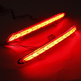 LED Rear Bumper Reflector Brake Car Tail Lights Signal Lamp For Honda Accord 2018-19