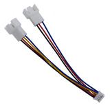 12cm PH2.0 Cavo da 4 pin a doppio da 3 pin / 4 pin da scheda grafica a ventola Cavo adattatore Cavo di alimentazione Cavo