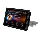 Autoradio Radio 7 Pollici 1 Din per Android 8.1 Lettore multimediale Rotazione regolabile 4 core 1GB + 16GB GPS Wifi bluetooth FM AM