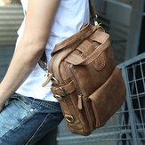 Ekphero Men Casual multifunctionele zakelijke crossbody schoudertas