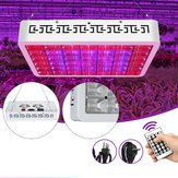 130LED Dimmable Grow Light Vollspektrum Veg Plant Lamp Timing Remote