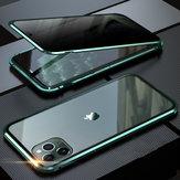 Bakeey Anti-pío de adsorción magnética de metal de doble cara de vidrio templado protector Caso para iPhone 11 Pro Max 6.5 Inch