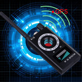 K18 RF Signal Camera Detector GSM Camera Audio Bug Finder GPS Full-Range Scan