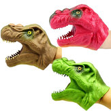 8CM TPR Plastic Dinosaur Puppet Toy Novelties Toys Wearable Animal Toys