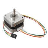 2 pcs 42mm 12 V Nema 17 Dua Fase Motor Stepper Untuk 3D Printer