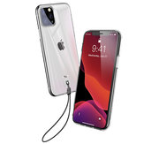 Baseus Clear Transparent Soft TPU Protective Case with Lanyard For iPhone 11 Pro Max 6.5 Inch