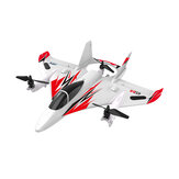 JJRC M02 2.4G 6CH 450mm Envergadura EPO Sin escobillas 6 ejes Gyro Aerobatic RC Airplane RTF 3D / 6G Mode Aircraft