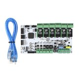Rumba32 Main Control Board 32-Bit Mainboard with 6 Motor Ports Support Marlin 2.0 for 3D Printer