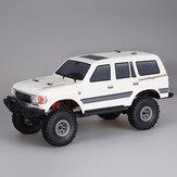 1/18 2.4G Mini voiture tout-terrain intérieur RC voiture étanche moteur ESC moteur 3Line modèles de véhicules Rock Crawler