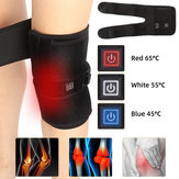 Heated Knee Pad Electric Warm Therapy Leg Wrap Belt Brace