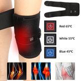 Genouillère chauffante attelle de ceinture enveloppante à thérapie électrique chaude