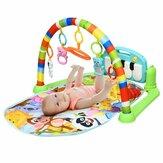 Bebê Aptidão Rack Multifuncional Music Frame Pedal Piano Recém-nascido Educação Infantil Brinquedos