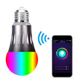 85-265V E27 7W WiFi RGBW LED Smart Light Bulb Work With Alexa Google Home Nest