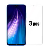 Bakeey 3pcs 9H Anti-explosion Anti-scratch Tempered Glass Screen Protector for Xiaomi Redmi Note 8