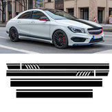 Roof Sport Side Stripes Car Decal Stickers For Mercedes Benz W117 C117 X117 CLA AMG