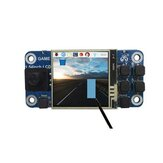 1.54Inch Game Hat with 240x240 LCD Screen Gaming Expansion Board for Raspberry Pi