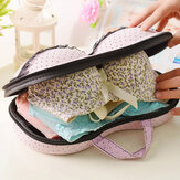Large Capacity Creative Bra Underwear Storage Box Travel  Bag Portable Organizer Bags With Net 32cm