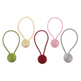 2Pcs Magnetic Ball Window Curtain Buckle Holder Tieback Tie Backs Clips