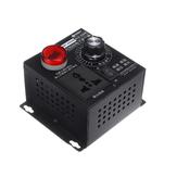 Contrôleur de commande de ventilateur de moteur à vitesse de régulateur de tension variable AC 220V 4000W