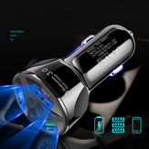 3 Holes USB Car Charger Stable Charging Intelligent Shunt Speed Up 60% 12-32V
