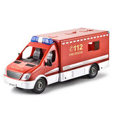 Double E 671 2.4G Rescue RC Car Vehicle Models Kids Toys Engineer Truck