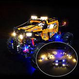 LED Light Lighting Kit ONLY For LEGO Technic 42099 4x4 X-Treme Off-Roader Toys