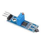 5pcs LM393 3144 Hall Sensor Hall Switch Hall Sensor Módulo para carro inteligente Geekcreit para Arduino - produtos que funcionam com placas oficiais Arduino