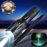 Elfeland Tactical T6 LED 5-Mode Torch Zoomable Flashlight