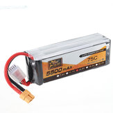 Bateria Lipo ZOP Power 14,8 V 5500 mAh 75C 4S do RC Racing Drone RC Quadcopter