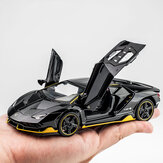 1:32 Lichtmetalen Centenario LP770 Multicolor Super Racing Car met Sound Light Diecast Model speelgoed voor kinderen cadeau