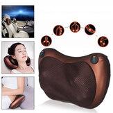 12V 20W 12 Massaggio Teste multifunzione Massaggio Cuscino Infrarosso cervicale Lombare Schienale elettrico Massaggior Sport Idoneità Fatica Relax Strumenti