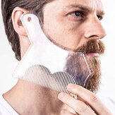 1Pc Barba Shaping Taglio Shaper Template Guida per la rasatura