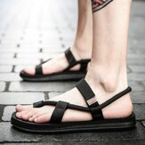 Men Knitted Woven Casual Soft Daily Sandals