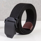 Automatic Buckle Belt Men's Alloy Buckle Belt