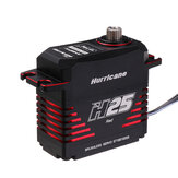 Power HD Hurricane H25 30KG HV Brushless Metal Gear Digital Servo pour 500-700 Class RC Helicopter