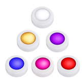 6 LED Puck Lights Under Cabinet Light Wireless Batterie Alimenté 2 Télécommandes
