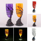 Halloween Luminoso LED Cup Skull Claw Skeleton Night Light Party Spaventoso Prop Decorazioni