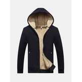 Cashmere Thick Warm Coat Hoodies Thermal Hoodies Sweatshirts
