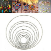 35mm ~ 160mm Dreamcatcher kim loại mạnh / Hoops Craft Macrame / Ring Feather
