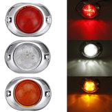 12V / 24V 5 LED Marcador lateral Luz de posición Luces laterales Universal para camiones remolques barco