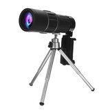 40X60 Telescópio Monocular Acampamento Ao Ar Livre Caminhadas Viajando Grande Angular HD Monocular de Visão Noturna com Tripé + Clipe