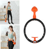 Detachable 360° Surrounding Intelligent Slimming Hoop Yoga Ring Counter Magnetic Massage Exercise Tools Fitness Equipment