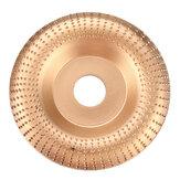 Drillpro 110x22mm Angle Grinder Wood Membentuk Disc Sanding Ukiran Woodworking Alat Rotary Disc Abrasive