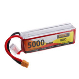 ZOP Power 14.8V 5000mAh 80C 4S Lipo Battery XT60 Plug for RC Drone