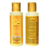PURC 12% Banana Flavor Keratin Treatment Straightening Hair Conditioner Repair Damage 100ml