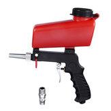 90PSI Portable Pneumatic Sand Blasting Paint Airbrush Small Hand Held Sandblasting with Switch